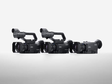 Sony 4K HDR Camcorders
