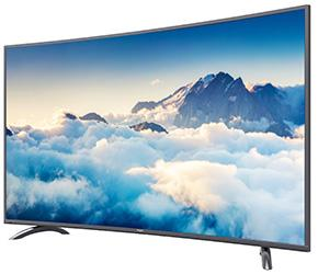 Kogan curved 55-inch 4K UHD LED LCD TV