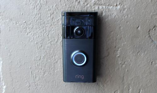 Ring says they'll replace stolen doorbells free of charge. Sounds good to me — as this review unit is affixed with double-sided tape.
