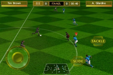 EA Games 2010 FIFA World Cup for iPhone